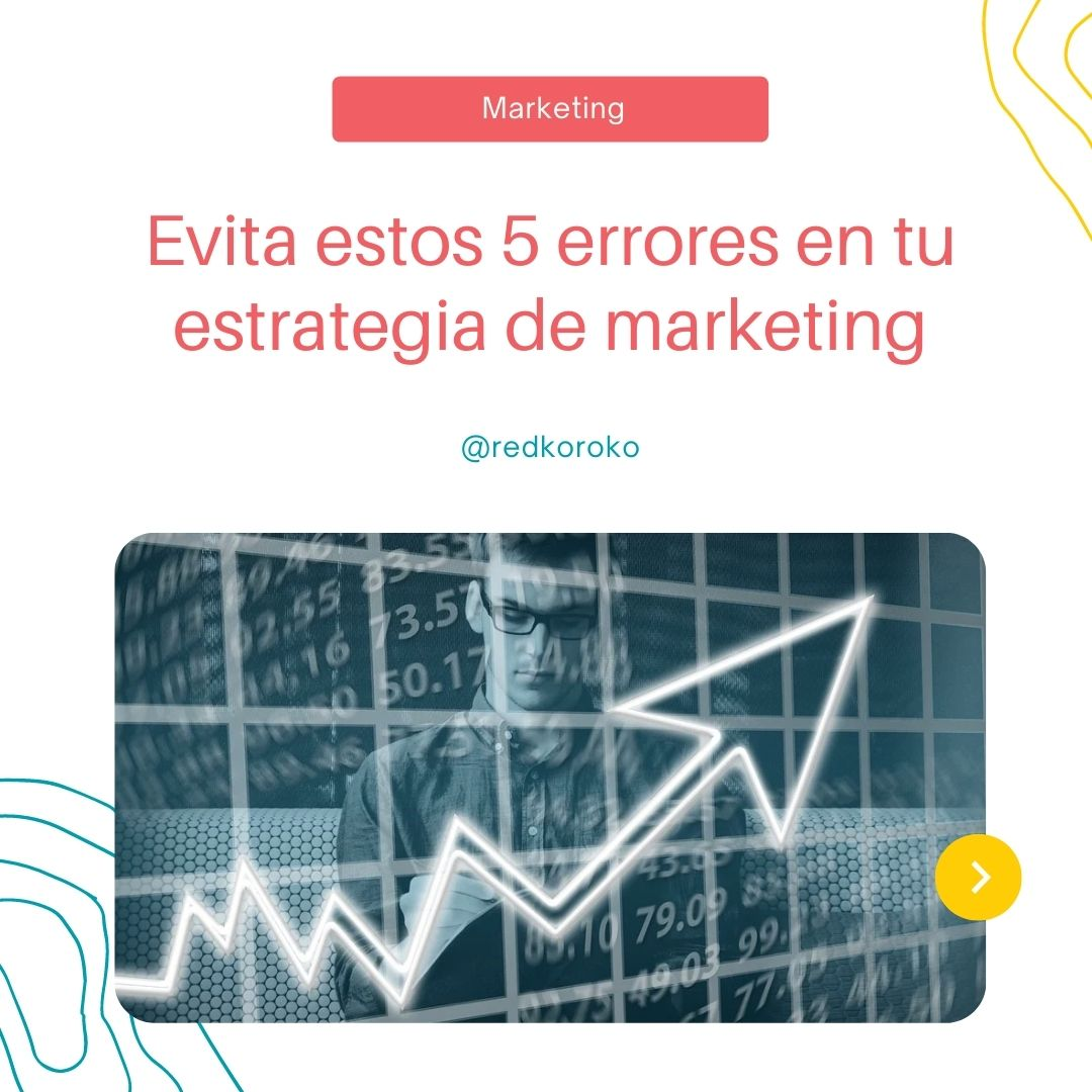 errores marketing online